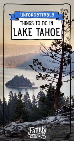 This article has tons of great ideas for things to do with kids in Lake Tahoe. is a great family friendly destination to visit this summer or winter. From hiking and swimming and other great outdoor activities, it's fun for the whole If Lake Tahoe Summer, Lake Tahoe Vacation, Vacation Travel, Travel Goals, Lakes In California, California Travel, Southern California, Banff, British Columbia