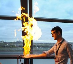 Roll up, roll up for the theatre of science! Flame On, GSC's hottest science show is back by popular demand. Find out how we use fire and see us set someone's hand alight (no volunteers will be hurt during this demo).