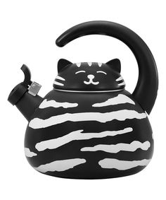 Take a look at this Black Cat Whistling Tea Kettle today!