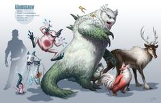 Pokemon with a more realistic spin.