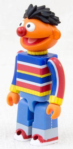 Sesame Street Kubrick Series 1 Ernie Medicom Toy JAPAN FIGURE #Medicom
