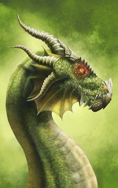 Dragon Mugshots-Stunning Digital Art by Michele Frigo Reminds me of Firnen from Inheritance