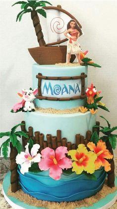 Birthday girl cake 40 Ideas for 2019 Moana Theme Birthday, Luau Birthday, Birthday Cake Girls, 3rd Birthday Parties, Birthday Cupcakes, Moana Birthday Cakes, Birthday Cake Disney, Birthday Ideas, Moana Party