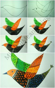 Exploring folk art craft from india artsycraftsymom creative desktop1 exploring the gond style of folk art age7 10 age5 7 folk crafts fandeluxe Document