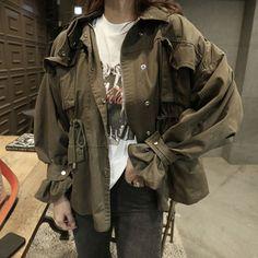 ジャケット - 大きいサイズ レディース 海外セレブジャケットミリタリーアウター