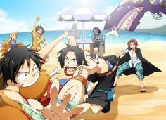 Ace, Luffy and their Family