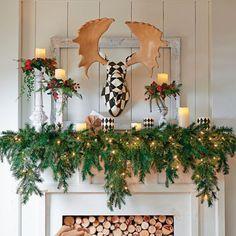 6' Cascading Christmas Garland