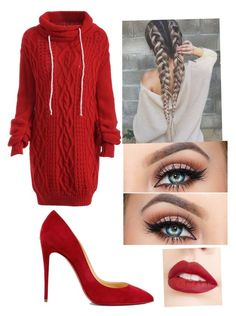 """""""❤️"""" by stefanie-ege on Polyvore featuring Christian Louboutin and Jouer"""