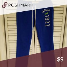Hollister Jaw String Sweatpants Very great for in the house or on the go, just add boots or sneakers. Hollister Pants