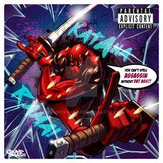 Deadpool by CrumpSmash Hack And Slash, Maximum Effort, Parental Advisory, Deadpool, Superhero, Fictional Characters, Art, Art Background, Kunst