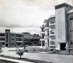 Av. Orinoco frente al tolón. Urb Las Mercedes, Caracas 1950.