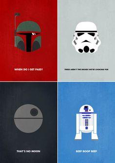 Star Wars Minimalism | MASHKULTURE