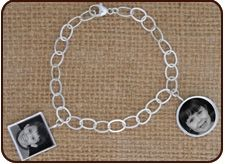 DELICATE CHARM BRACELET from the sterling silver line