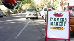Awesome little video (by Mission Adrenaline) of the Davis Farmers Market Farmers Market, Marketing, Awesome, Be Awesome, Farmers' Market