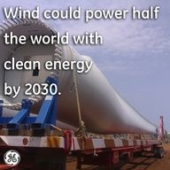 Last year, nearly wind turbines met percent of global energy needs. These numbers are impressive, but wind energy has the potential to pack an even bigger punch — according to a new study, wind could power half the world with clean energy by Save Our Earth, Save The Planet, Energy Use, Solar Energy, Types Of Renewable Energy, Help The Environment, Wind Power, Environmental Issues, Alternative Energy
