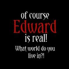 Yes hes real! Twilight Jokes, Twilight Saga Quotes, Twilight Saga Series, Twilight Edward, Twilight Movie, Book Nerd, Writing A Book, Funny Jokes, Vampires