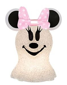 Disney Discovery- Sparkling Minnie Mouse Ghost Decoration