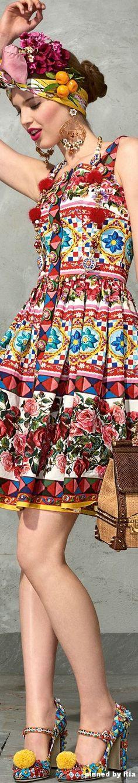 Dolce & Gabbana Spring Summer 2017 l Ria