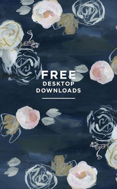 Free downloads from Design Love Fest! Tip: Upload these into your Canva and use them as backgrounds too!