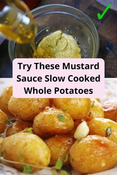#Mustard #Sauce #Slow #Cooked #Whole #Potatoes Good Marriage, Marriage Tips, Slow Cooker Potatoes, Chic Wedding, Wedding Heels, Dinner Dishes, Cute Couples, Mustard, Christmas Garden