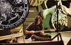 Glenn Danzig with John Christ's guitar