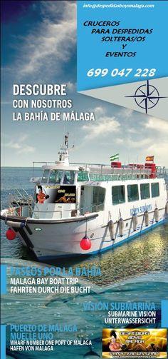 Cruceros para despedidas de solteros y solteras en Málaga