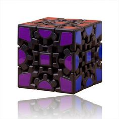 Meffert's Gear Puzzle Cube Toy Black - I know he said he loved doing the rubiks cube, so lets see what he thinks about this upgrade