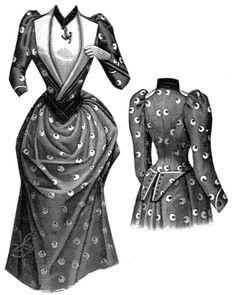 ageless pattern, 1891 Boating Dress