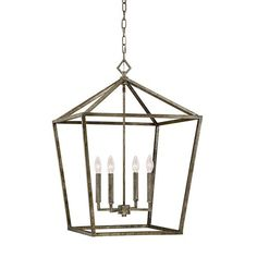 FREE SHIPPING. Visual Comfort Darlana Lantern Look For Less. Purchase The  Modern Geometric Cage