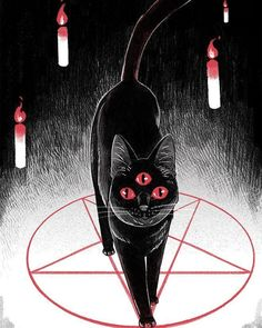 Just Cultist Things Arte Horror, Horror Art, Tattoo Gato, Arte Peculiar, Satanic Rituals, Satanic Art, Occult Art, Witch Aesthetic, Pale Aesthetic