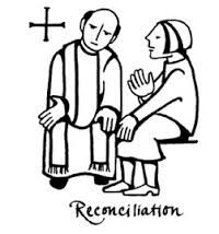 picture of sacrament of reconciliation confession coloring page for children