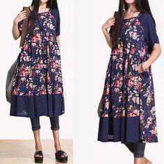 Floral Dress- Buykud -