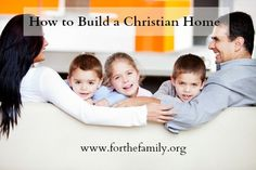 This is a fantastic post on what it means to REALLY have a Christian home!