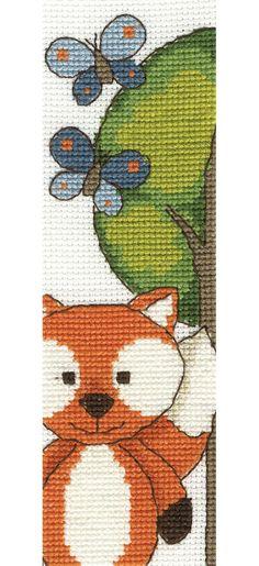 Butterfly Fun Cross Stitch Kit £9.40 | Past Impressions | DMC