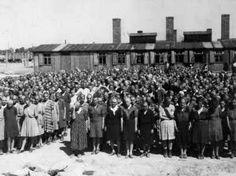 Auschwitz-Birkenau, Poland, Women Inside the Women's Camp