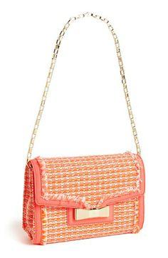 kate spade new york 'carroll park - scarlette' tweed shoulder bag available at #Nordstrom
