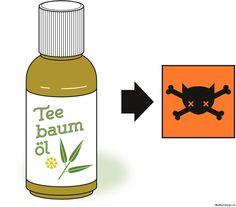 Teebaumöl ist für Katzen giftig