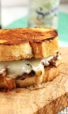 Short Rib and Taleggio Grilled Cheese Sandwich | The Suburban Soapbox