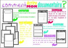 Ecrire un documentaire !