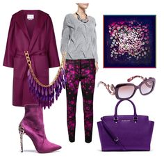 Консультация стилиста для девушки зимнего цветотипа, просто красота!