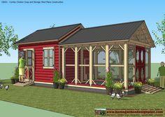 Chicken coop plans More