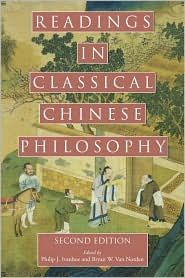 Readings in Classical Chinese Philosophy by Philip J. Most of it pre-Zen Buddhism. great introduction to Confucius, The Daodejing, and other important texts.