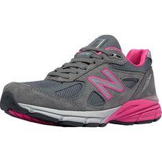 New Balance - 990v4 Specialty Running Shoe - Women's - Grey/Pink