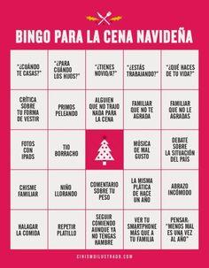 Bingo para la cena navideña. #humor #risa #graciosas #chistosas #divertidas