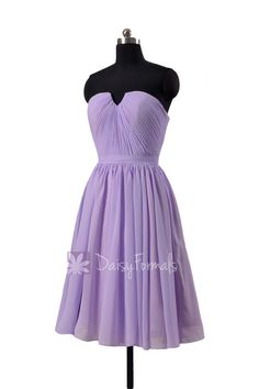 d033c568c71 Light mauve short chiffon beach party dress strapless mauve chiffon formal  - This dress is all about the shirred strapless bodice with visible i
