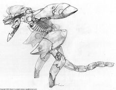 Metal Gear RAY Prototype by ~SolidAlexei on deviantART