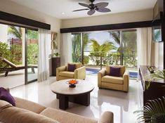 El Dorado Maroma Hotel & Resort By Karisma Riviera Maya, Mexico Resort Villa, Outdoor Furniture Sets, Outdoor Decor, Riviera Maya, Contemporary Decor, Hotels And Resorts, Living Spaces, Vacations, Home
