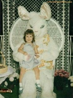 The bunny didn't have time to dispose of the last kid...