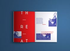 Experimental publication about a fictionalized narrative based on the exploration of various concepts and behaviors in a relationship between the human species and the irrational animals. Editorial Design Layouts, Magazine Layout Design, Book Design Layout, Print Layout, Booklet Design, Brochure Design, Mise En Page Magazine, Mises En Page Design Graphique, Publication Design
