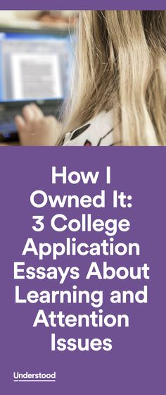 Many students (and parents) wonder if it's a good idea to disclose their learning and attention issues in their college application essay. Whether to disclose is a personal decision. But for these three students, all mentors with Understood founding partner Eye to Eye, it was a positive move.